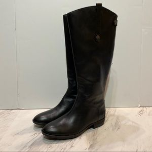 Sam Edelman Wide Calf Black Penny Riding Boots